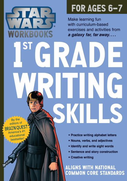 Star Wars Workbook, 1st Grade Writing Skills