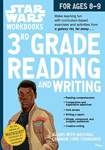 3rd Grade Reading and Writing Star Wars Workbook (Ages 8-9)