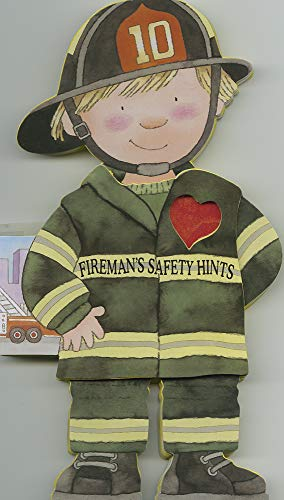 Fireman's Safety Hints (Little People Shape Books)