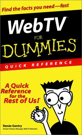 WebTV For Dummies: Quick Reference