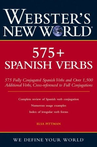 Webster's New World 575+ Spanish Verbs
