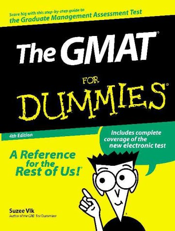 The GMAT For Dummies (4th Edition)