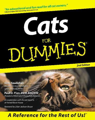 Cats for Dummies (2nd Edition)