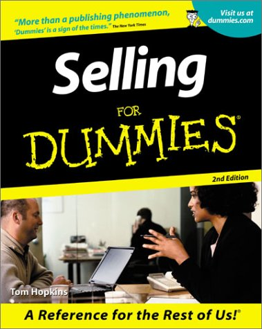 Selling for Dummies (2nd Edition)