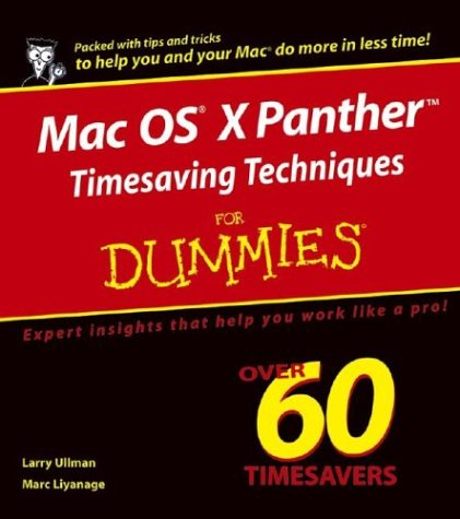 Mac OS(R) X Panthertm Timesaving Techniques for Dummies(r)
