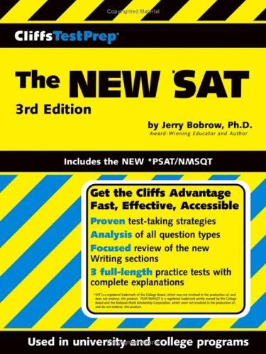 The NEW *SAT (3rd Edition, CliffsTestPrep)