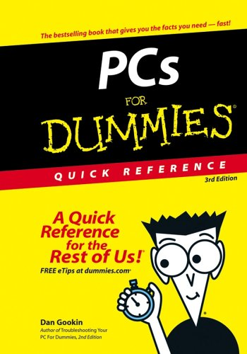 PCs For Dummies Quick Reference (3rd Edition)