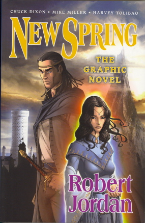 New Spring: The Graphic Novel (Wheel of Time)