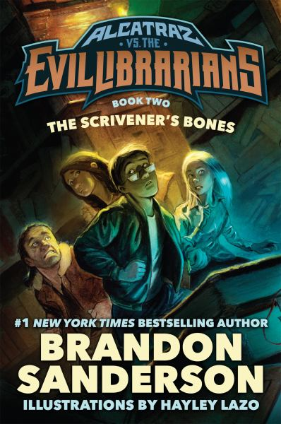 The Scrivener's Bones (Alcatraz vs the Evil Librarians, Bk. 2)