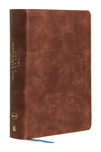 NKJV The Lucado Encouraging Word Bible (5563BR, Brown Leathersoft)