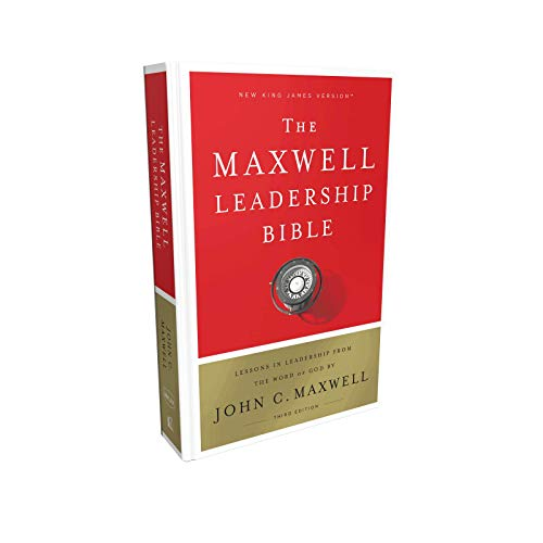 NKJV The Maxwell Leadership Bible (5182, 3rd Edition)