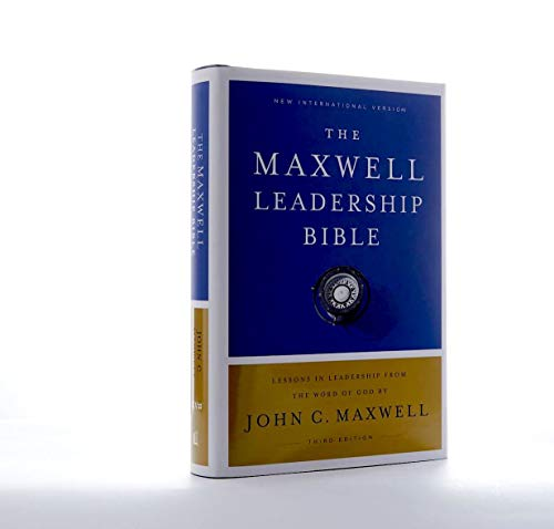 NIV Maxwell Leadership Bible (3rd Edition, 7182)
