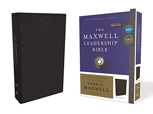 NIV The Maxwell Leadersip Bible (7183BK, Black Leathersoft)