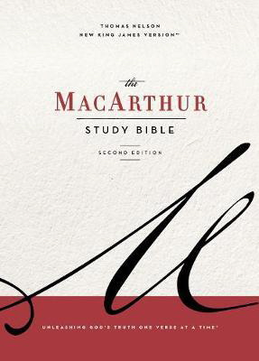 NKJV The MacArthur Study Bible (2nd Edition)