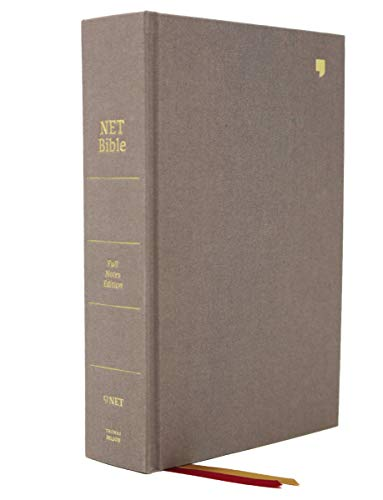NET Bible (Full-Notes Edition, 5622GY, Gray Cloth Over Board)