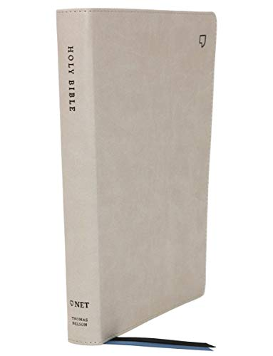 Net Thinline Large Print Bible (5683TA, Stone Leathersoft)