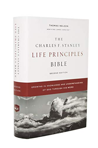 NKJV The Charles F. Stanley Life Principles Bible (7462, 2nd Edition)