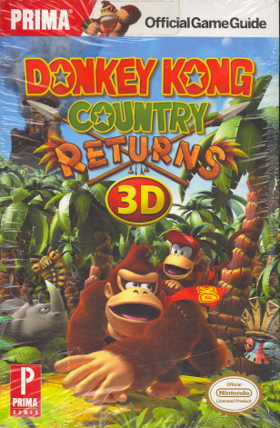 Donkey Kong Returns 3D (Prima, Official Game Guide)