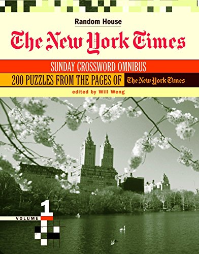 The New York Times Sunday Crossword Omnibus, (Volume 1)