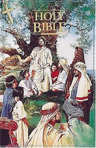 Seaside Bible for Children (KJV, 0110Z/Black  Hardcover, Blue Page Edges, Zipper Closing)