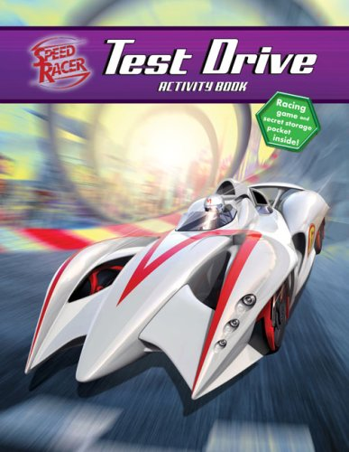 Test Drive Activity Book (Speed Racer)