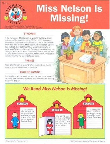 Miss Nelson Is Missing! (Literature Notes)
