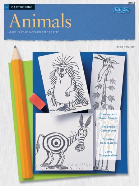 Animals: Learn To Draw Cartoons Step By Step