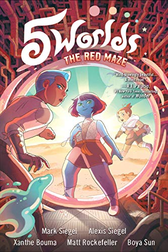 The Red Maze (5 Worlds, Bk. 3)