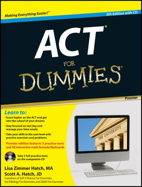 ACT for Dummies (Premier 5th Edition with CD)