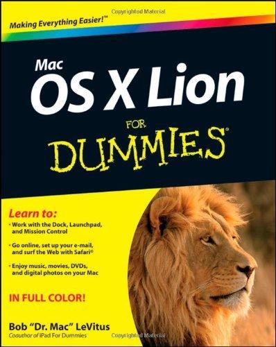 Mac OS X Lion (For Dummies (Computer/Tech)