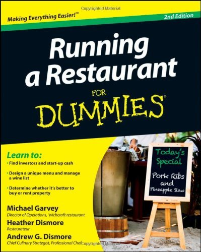Running a Restaurant For Dummies (For Dummies (Business & Personal Finance))