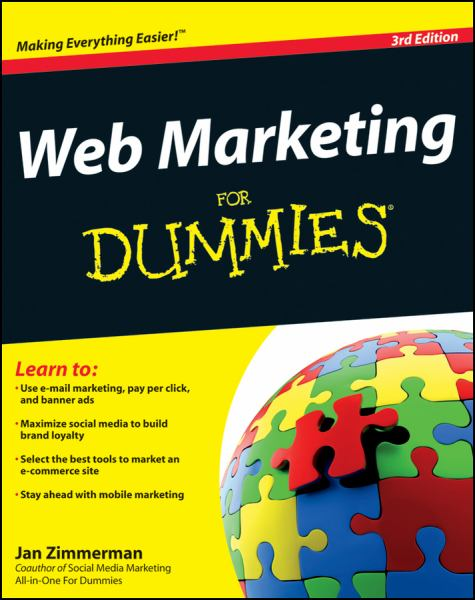 Web Marketing for Dummies (3rd Edition)