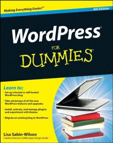 WordPress For Dummies (4th Edition)