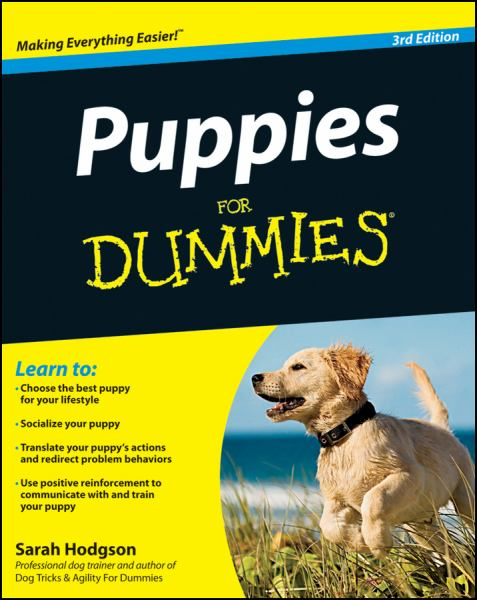 Puppies for Dummies (3rd Edition)