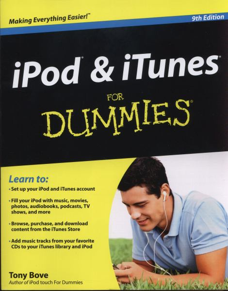iPod and iTunes for Dummies (9th Edition)