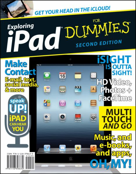 Exploring iPad for Dummies (Second Edition)
