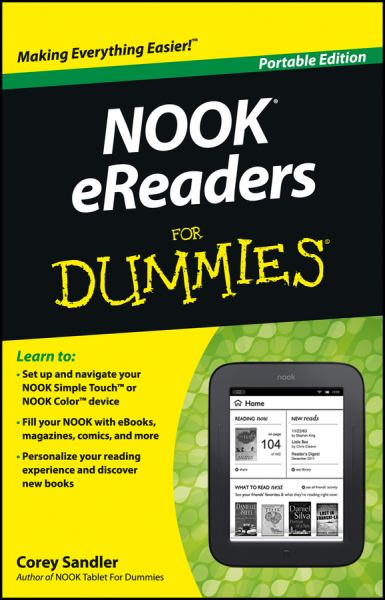 Nook eReaders for Dummies (Portable Edition)