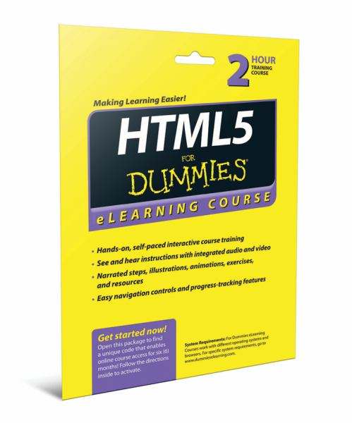 HTML5 for Dummies (eLearning Course)