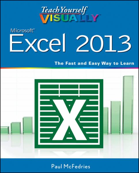 Microsoft Excel 2013 (Teach Yourself Visually)