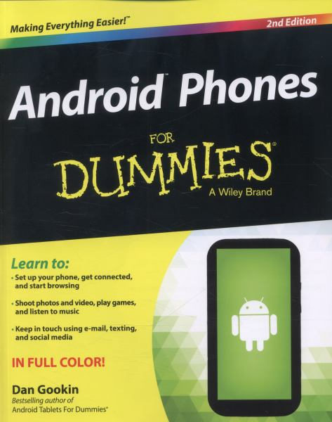 Android Phones for Dummies (2nd Edition)
