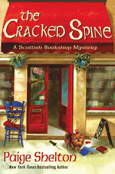 The Cracked Spine  (A Scottish Bookshop Mystery)