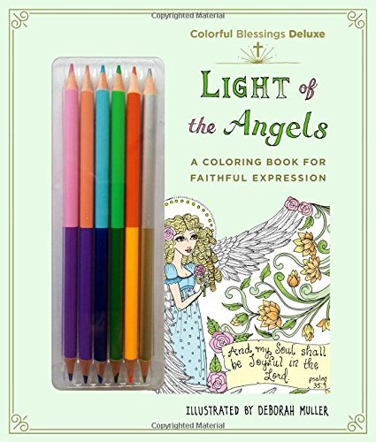 colorful blessings light of the angels deluxe edition with pencils