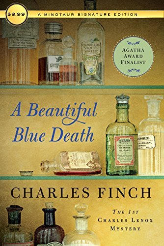 A Beautiful Blue Death (Charles Lenox Mysteries, Bk. 1)