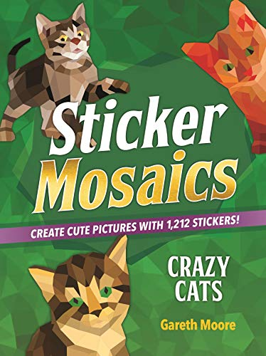 Crazy Cats (Sticker Mosaics)