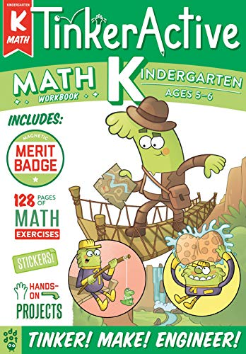 Math Workbook (TinkerActive, Kindergarten)