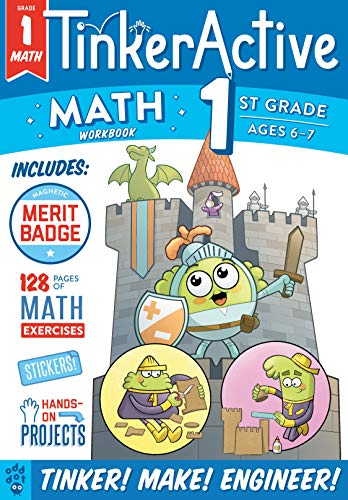 Math Workbook (TinkerActive, Grade 1)