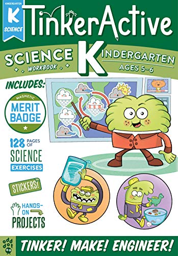 Science Workbook (TinkerActive, Kindergarten)