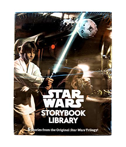 Star Wars Storybook Library (6 Stories From the Original Star Wars Trilogy)