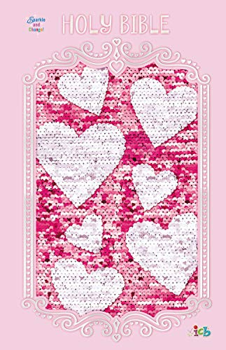 ICB Sequin Sparkle and Change Bible (Pink)
