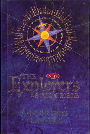 The Explorer's Study Bible: Seeking God's Treasure and Living His Word (KNJV)